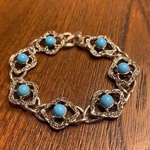 Silver tone bracelet by Sarah Coventry